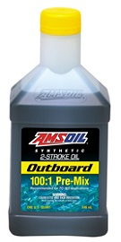 Amsoil 100:1 pre mix outboard oil