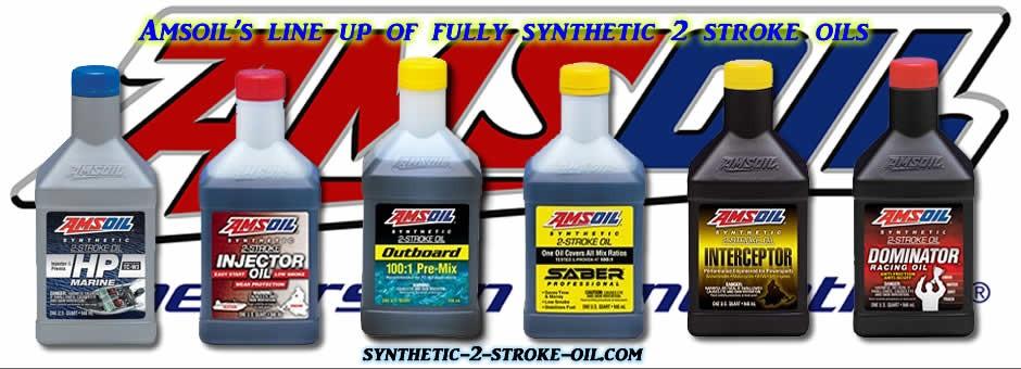 Amsoil 2 stroke oils